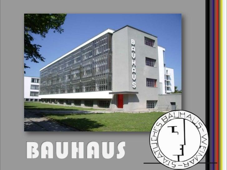 BAUHAUS   CBFM