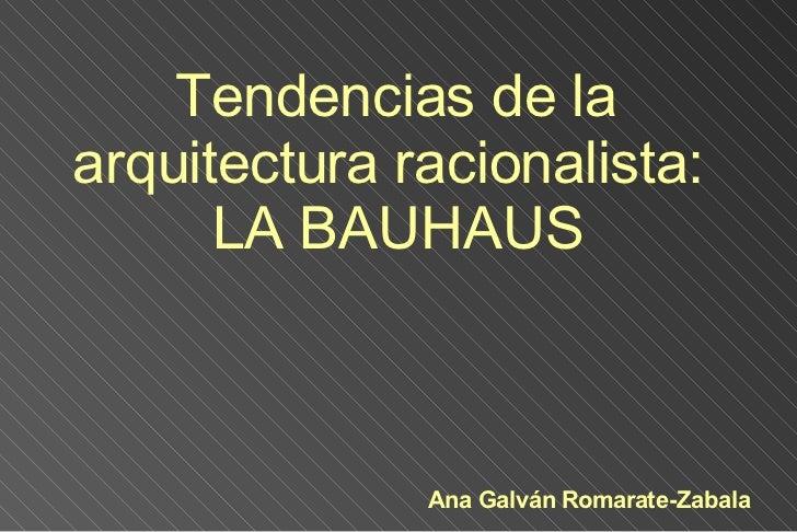 Bauhaus Esquema Blog
