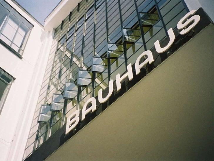 Bauhaus ignite format