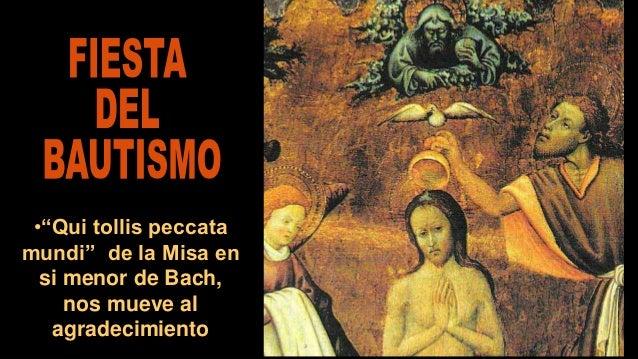 """•""""Qui tollis peccata mundi"""" de la Misa en si menor de Bach, nos mueve al agradecimiento"""