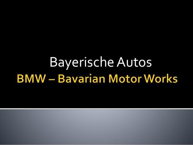 Bayerische Autos
