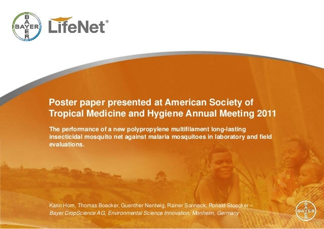 Poster paper presented at American Society ofTropical Medicine and Hygiene Annual Meeting 2011The performance of a new pol...