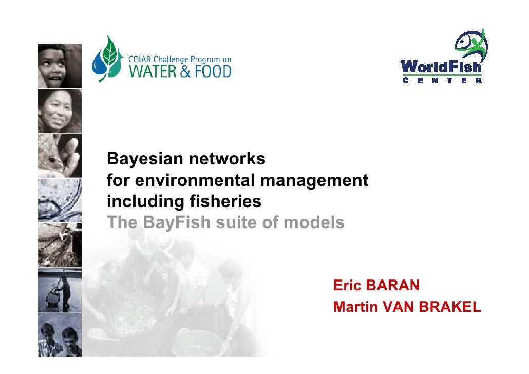 people science environment partners     Bayesian networks for environmental management including fisheries The BayFish sui...