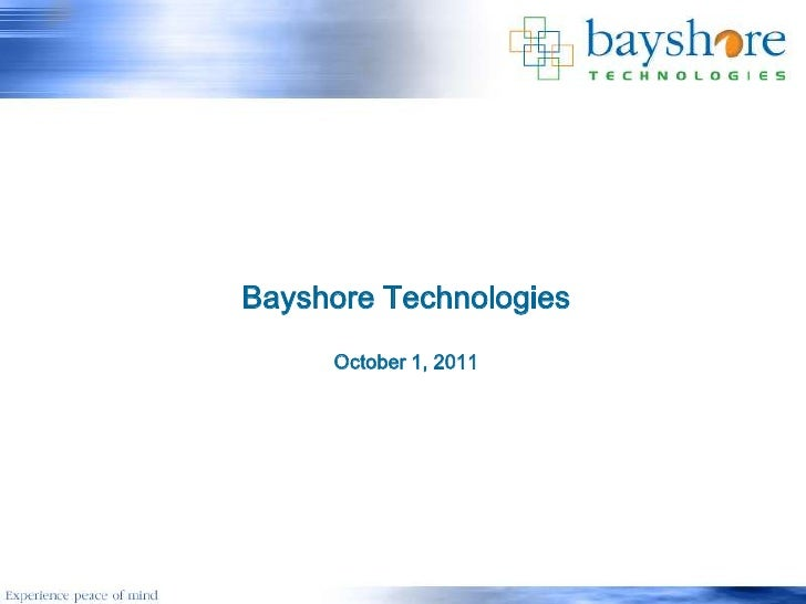 Bayshore General Oct 2011