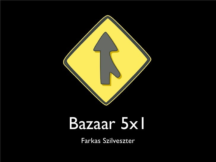 Bazaar 5x1  Farkas Szilveszter
