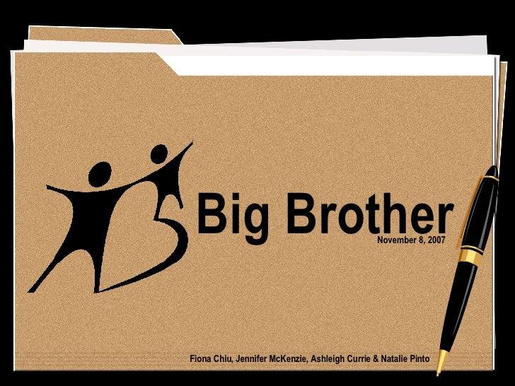 Big Brother November 8, 2007 Fiona Chiu, Jennifer McKenzie, Ashleigh Currie & Natalie Pinto