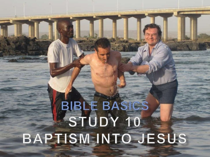 """   Heb. 6:2 speaks of baptism as one of the most    basic doctrines   """"Salvation is of the Jews"""" (Jn. 4:22) in the sense..."""