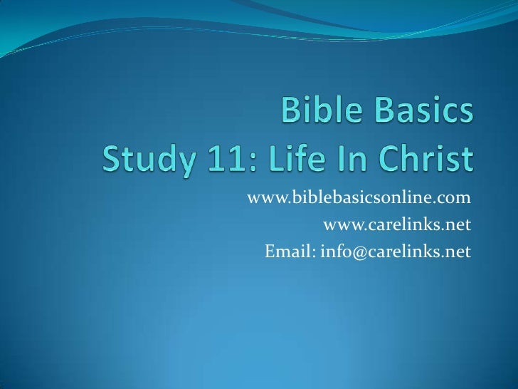 an analysis of the topic of the biblical basis for jesus humanity The bible and the age of the earth [part  there probably is no statement that could be made on the topic of origins  henry m (1984), the biblical basis.