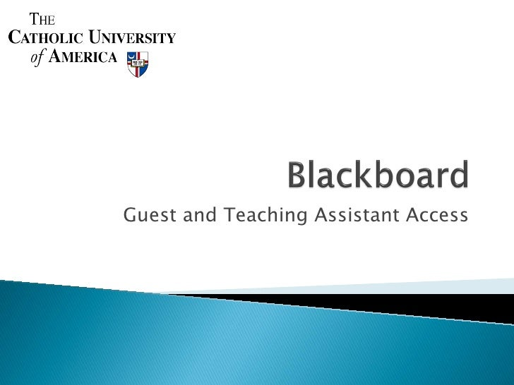 Guest and Teaching Assistant Access