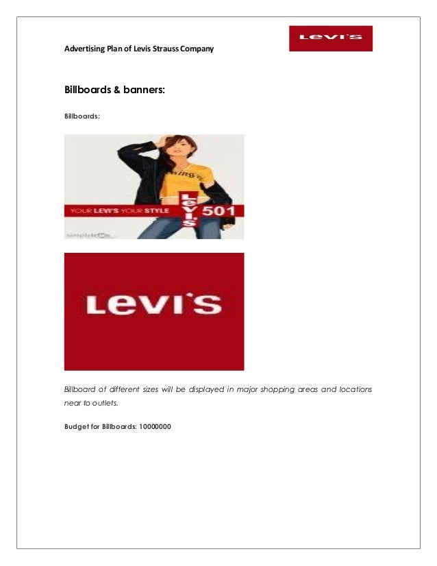 levis business report As the manufacturers of the iconic 501 jeans, levi's are world leaders when it   the spending power created by the gold rush, levi strauss set up business in.