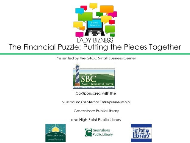 The Financial Puzzle: Putting the Pieces Together