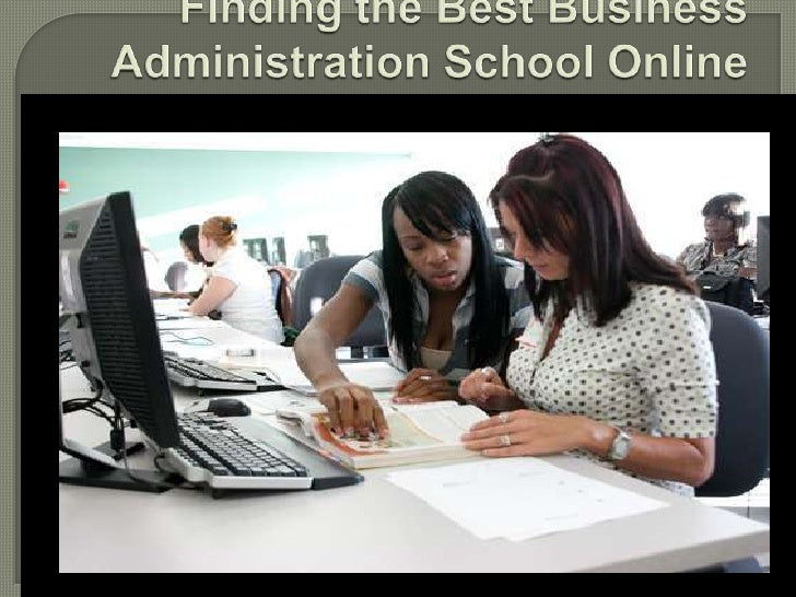 Finding the Best Business Administration School Online