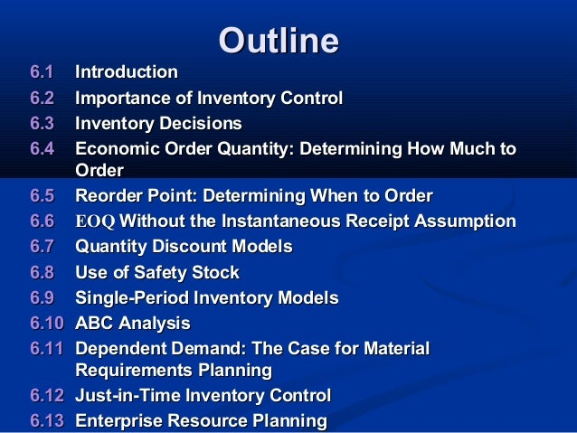 discuss economic order quantity model eoq and just time mo In inventory management, economic order quantity (eoq) demand varies over time: dynamic lot size model several products produced on the same machine.