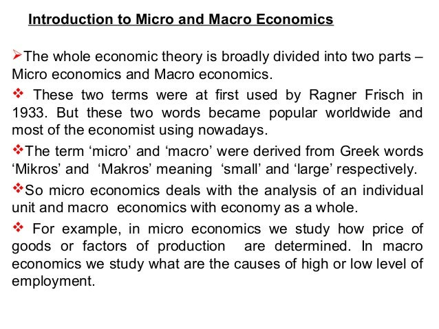 introduction to microeconomics Introduction to microeconomics is a rigorous three-week course that uses tours to teach the principles of microeconomics introduction to fluid mechanical.