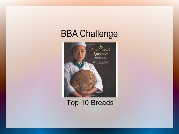 BBA Challenge      Top 10 Breads