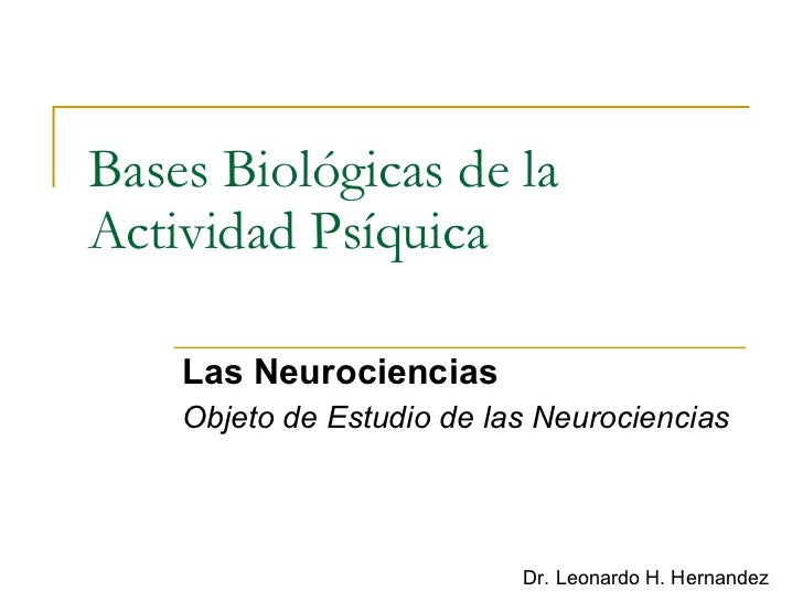 Bbap Las Neurociencias