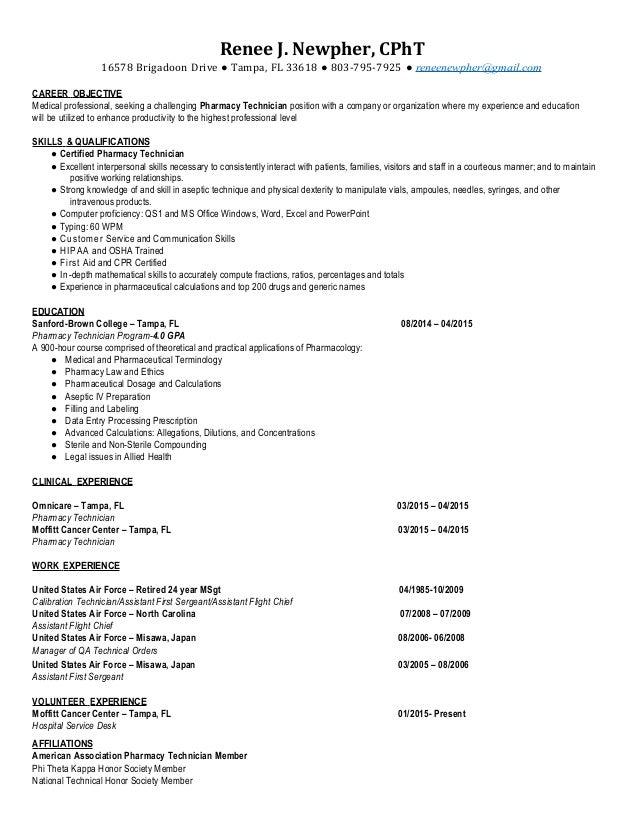 Electronic Technician Resume Objective Kenindlecomfortzone