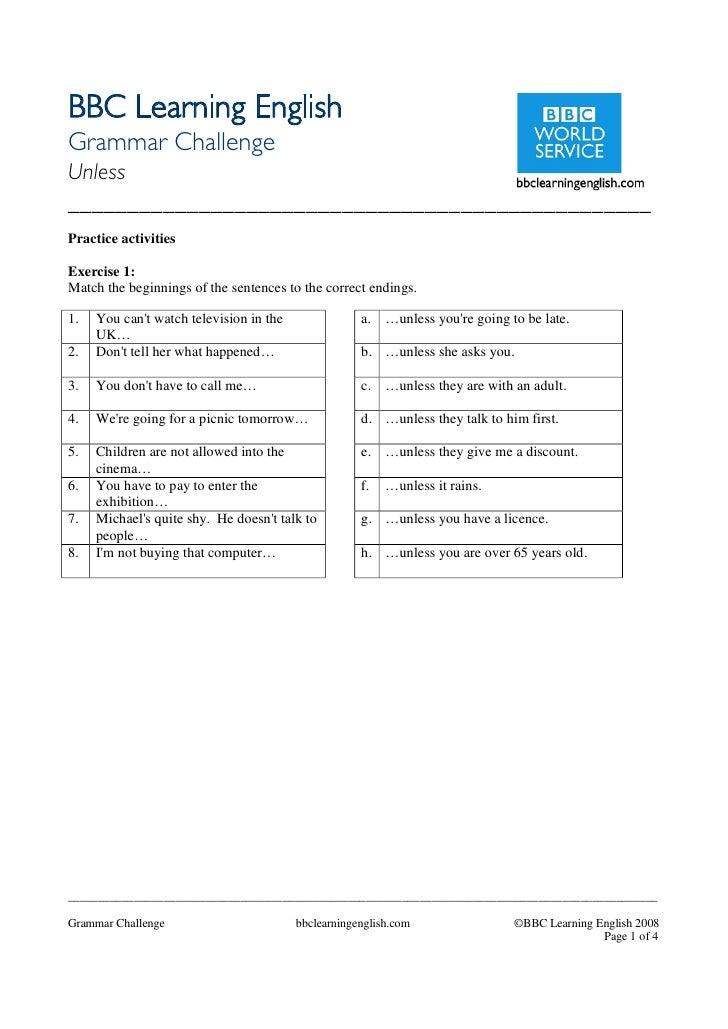 Bbc   english language quiz