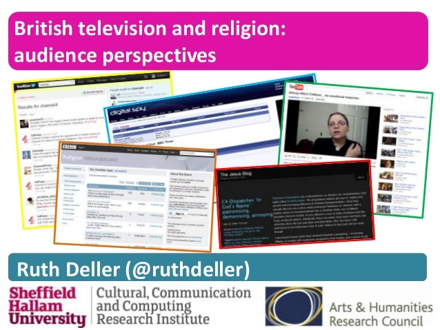 British television and religion:audience perspectivesRuth Deller (@ruthdeller)