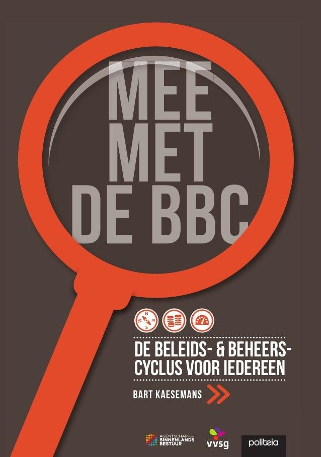 'Mee met de BBC. De beleids- en beheerscyclus voor iedereen'