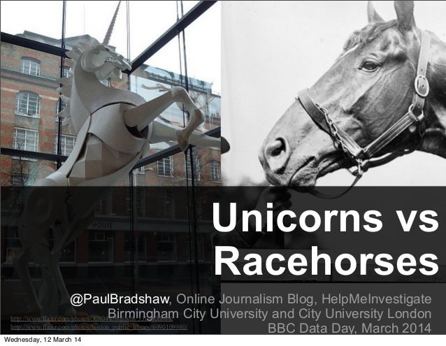 Unicorns vs Racehorses