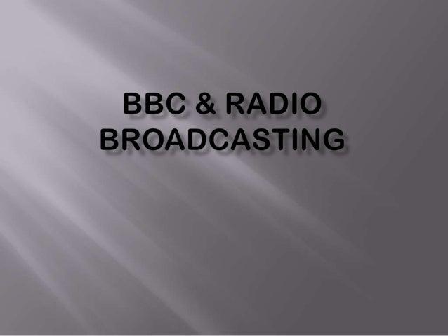 BBC Radio And Commercial Radio