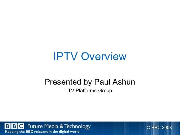 BBC - What is IPTV?