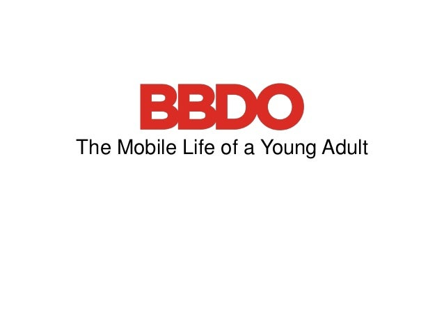 The Mobile Life of a Young Adult