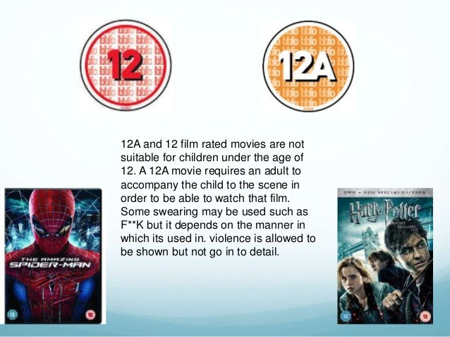 Age Rating 12a 12a And 12 Film Rated Movies