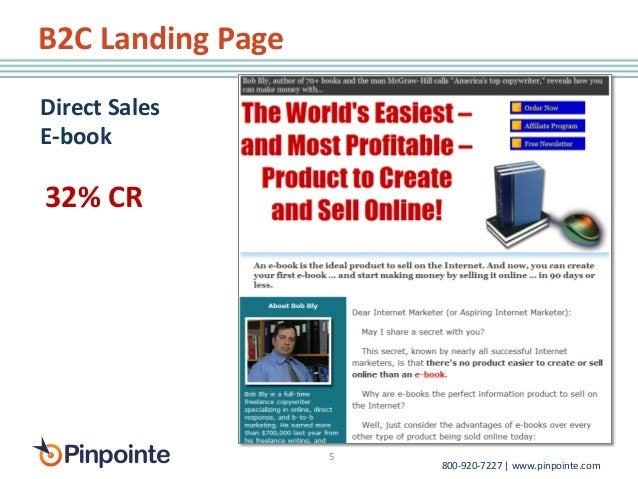 Book Sales Landing Page Landing Page Direct Sales