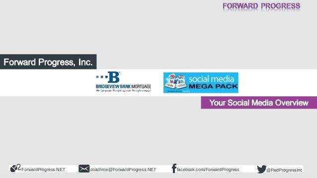 BBMC Social Media Overview - Forward Progress - Dean DeLisle - 2014