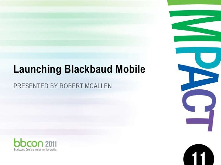 Blackbaud mobile