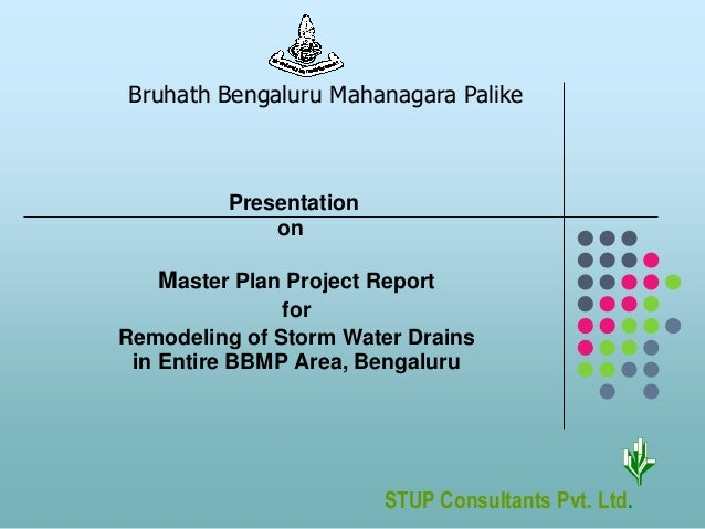 Master plan project report on remodeling of storm water for How to plan a remodeling project
