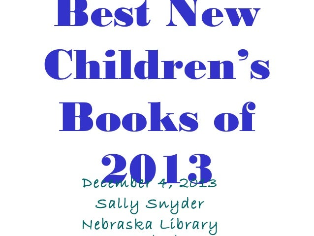 NCompass Live: Best New Youth Books of 2013