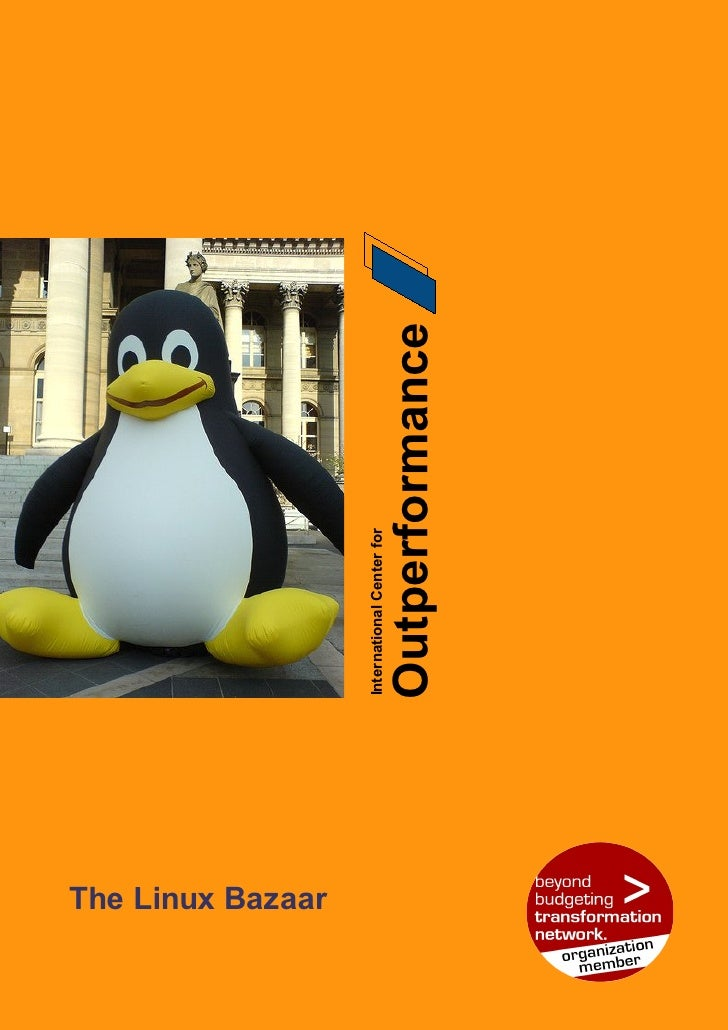 The Linux Bazaar                             International Center for                              Outperformance     Page...