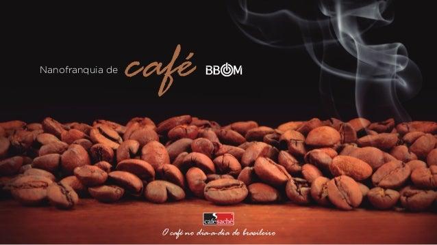 Nanofranquia de  café O café no dia-a-dia do brasileiro