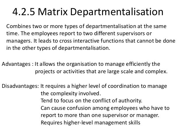 introduction to departmentalization Foundations of group behavior - introduction to organizational behavior | courseware - ibs center for management research ,the chapter discusses about reporting and authority relationships within which an organization functions is referred to as the organization structure,there are six basic elements which form the basis of an organization structure such as work specialization.