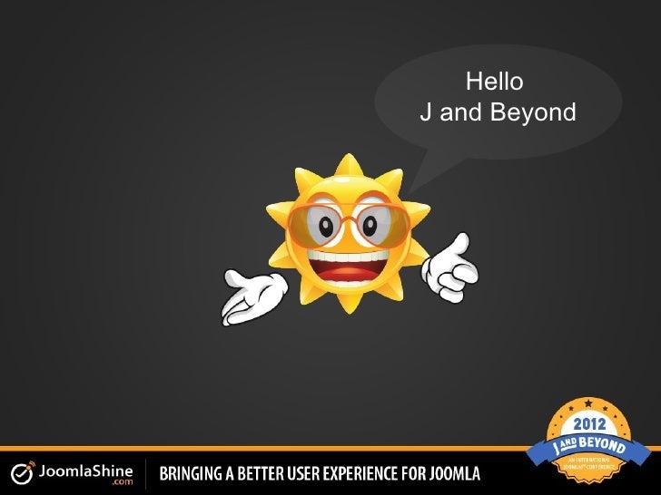 JSN Power Admin on JandBeyond 2012 - Bravebits