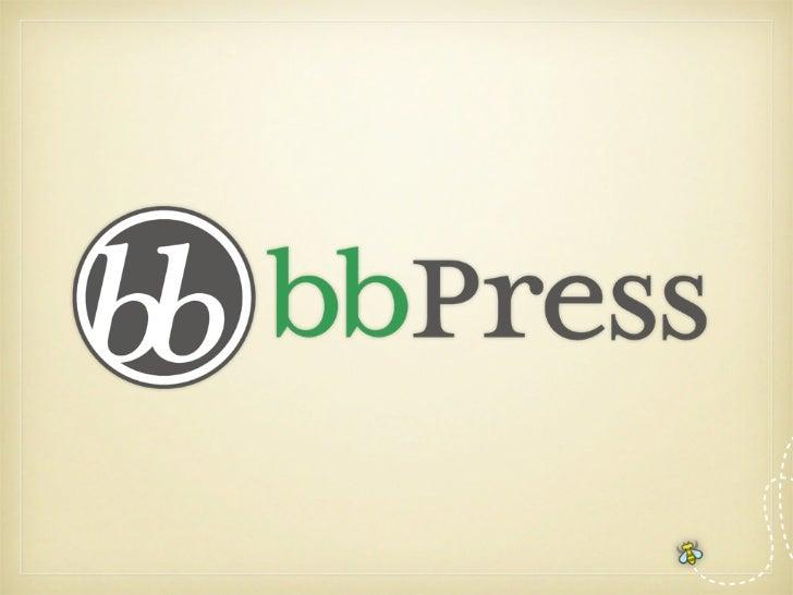 Forums made the WordPress way