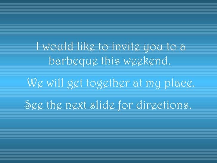 B B Q Invitation