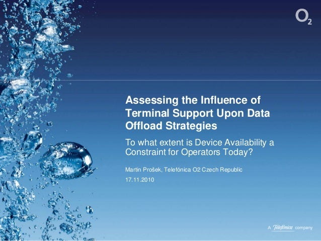 Assessing the Influence of Terminal Support Upon Data Offload Strategies To what extent is Device Availability a Constrain...