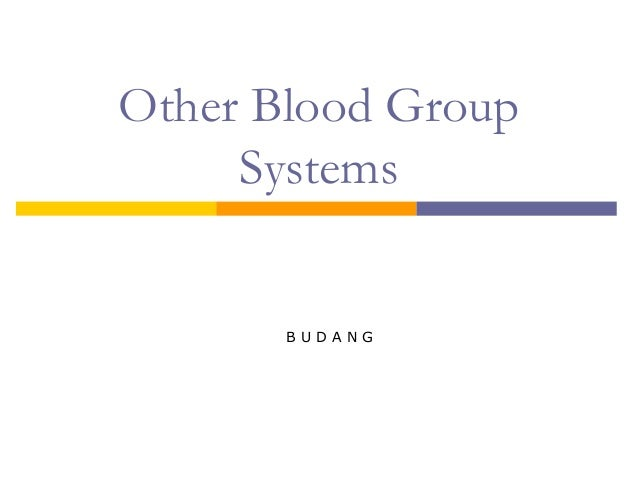 other blood types