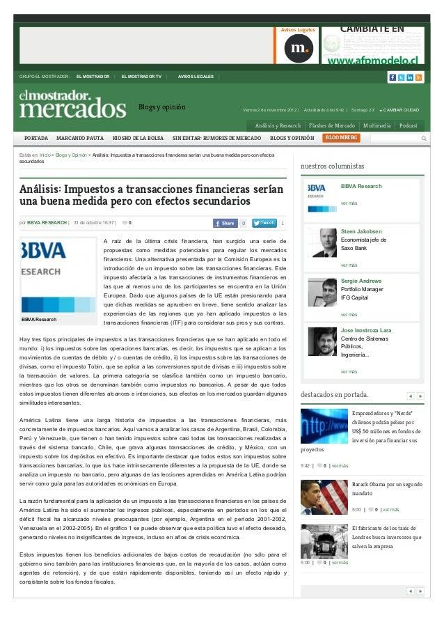 GRUPO EL MOSTRADOR:        EL MOSTRADOR          EL MOSTRADOR TV             AVISOS LEGALES                               ...