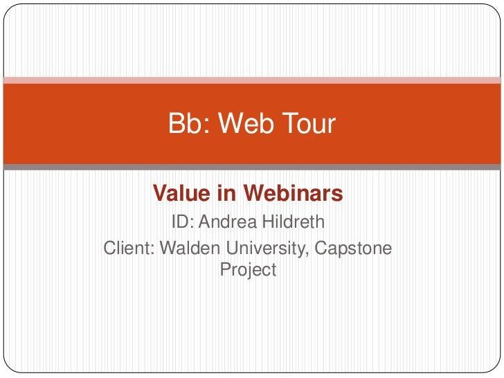 Bb web tour