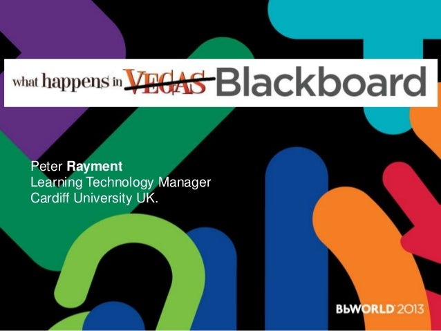Bb w ppt_what happens in blackboard p rayment