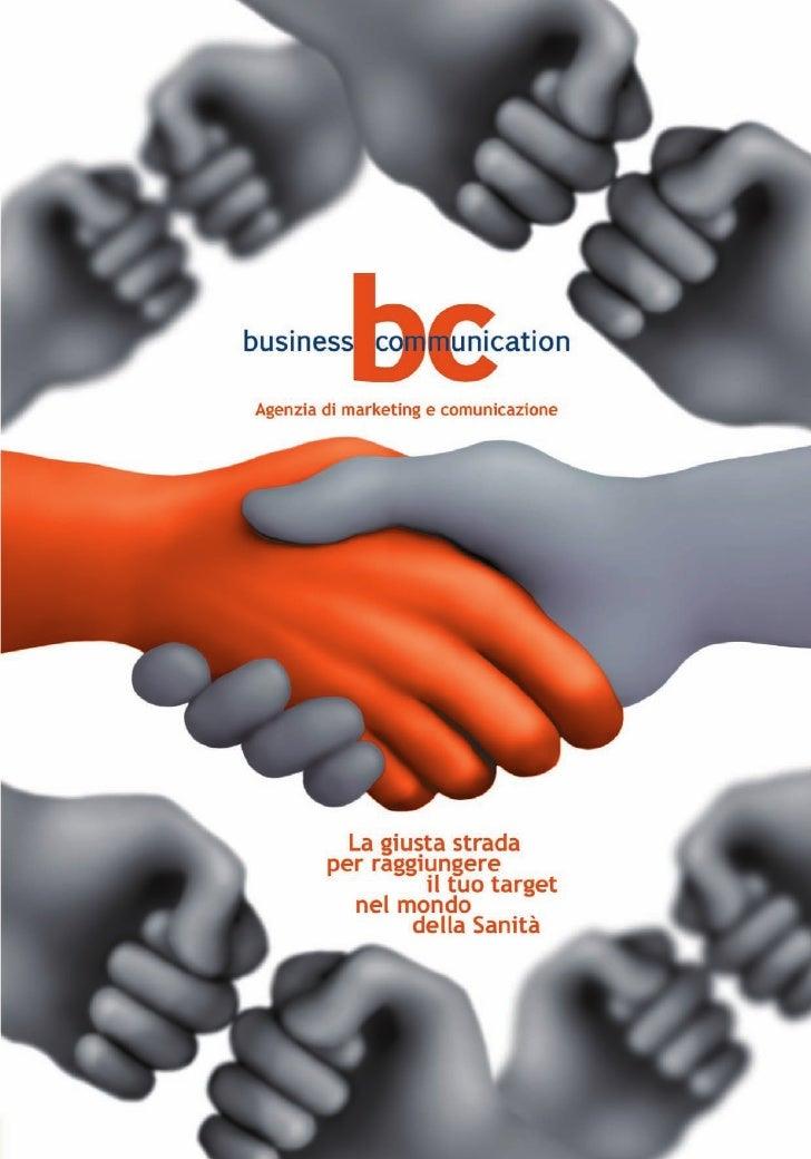 Business Communication - Marketing e Comunicazione Sociale in Sanità