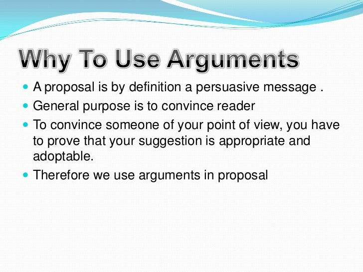 point of argument essay