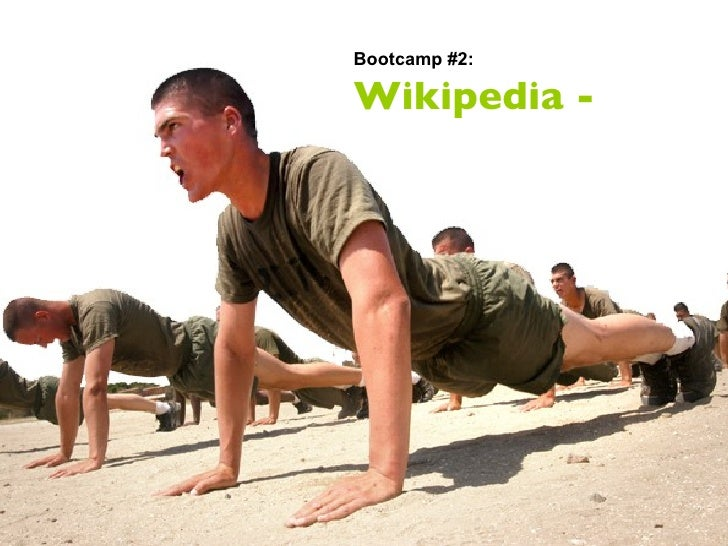 Bootcamp #2: Wikipedia -