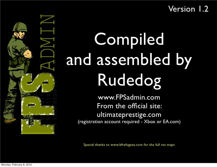 Version 1.2                                 Compiled                            and assembled by                          ...