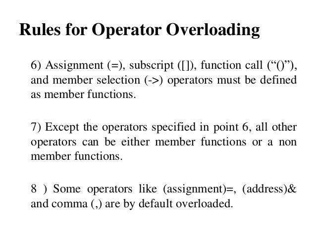 address of overloaded function: